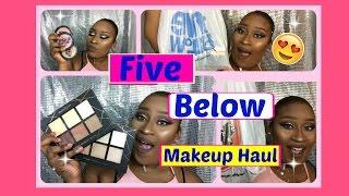 getlinkyoutube.com-5 Below Mini Makeup Haul