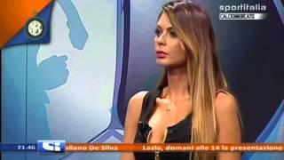 getlinkyoutube.com-Jolanda De Rienzo Aspettando Calciomercato 7 Luglio 2014