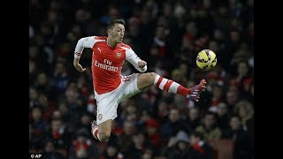 getlinkyoutube.com-Mesut Özil • Best Ball Controls & First Touches Ever  2009-2016