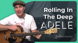 getlinkyoutube.com-How to play Rolling In The Deep by Adele (Guitar Lesson SB-209)