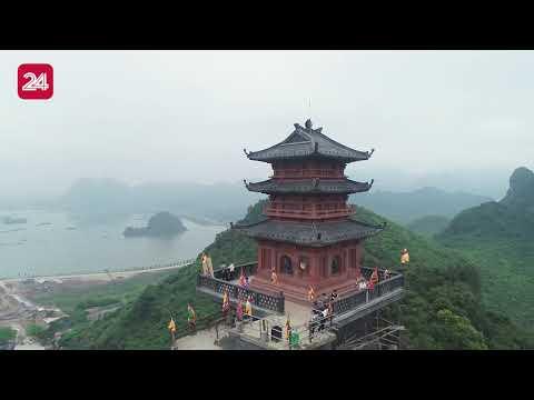 Ngắm nhìn chùa Tam Chúc, ngôi chùa lớn nhất thế giới qua góc nhìn trên cao | VTV24