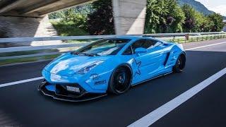 getlinkyoutube.com-Lamborghini Gallardo | LibertyWalk Style | Revert Official