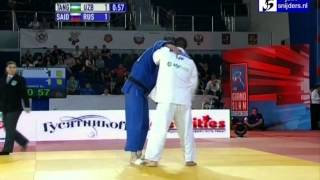 getlinkyoutube.com-Abdullo Tangriev (UZB) - Renat Saidov (RUS) [+100kg] semi-final b