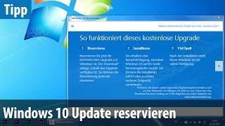 getlinkyoutube.com-Windows 10 - Update reservieren & so viel kostet das neue Windows | deutsch / german