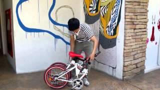 getlinkyoutube.com-NESCO CYCLING : K-POP Folding Bike KP-2001TSP21