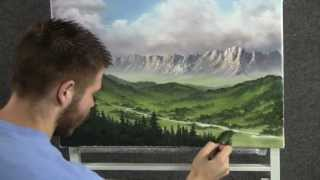 getlinkyoutube.com-Looking Over the Valley - Paint with Kevin Hill