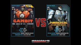 getlinkyoutube.com-Real Steel WRB Gambit VS Ambush UNDERWORLD I NEW ROBOT Christmas updating