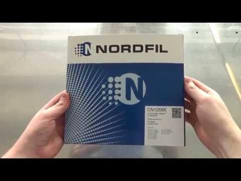 ? Салонный угольный фильтр NORDFIL CN1058K. NORDFIL