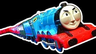 getlinkyoutube.com-Gordon's Longest Trackmaster Train Ever - World Record ?