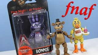 "getlinkyoutube.com-Five Nights at Freddy's Funko 5"" Action Figure Collection Opening Review"