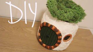 getlinkyoutube.com-DIY: Hobbit House Jar