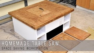 getlinkyoutube.com-Homemade Table Saw Workstation, Router, Jigsaw and Downdraft Review
