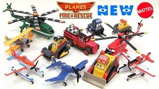 getlinkyoutube.com-11 Disney Planes Fire and Rescue New Mattel Deluxe Die-Cast Toy Releases