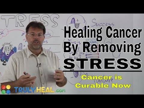 Cancer is curable Now by removing Stress