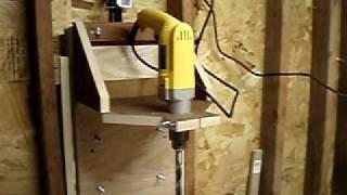 getlinkyoutube.com-Homemade Drill Press