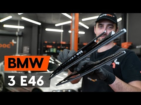 Как заменить щётки стеклоочистителя наBMW 3 (E46) (ВИДЕОУРОК AUTODOC)