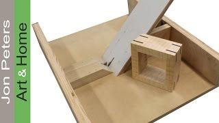 getlinkyoutube.com-Build a Simple Spline Jig & Make a Spline Frame
