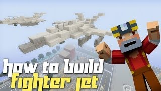 getlinkyoutube.com-Minecraft Xbox 360: How to Build a Fighter Jet!