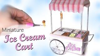 getlinkyoutube.com-Miniature Ice Cream Cart Tutorial - Dolls/Dollhouse