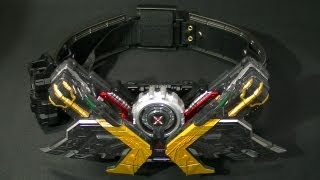 "getlinkyoutube.com-仮面ライダーWダブル ""大人の為の変身ベルト"" de エクストリーム COMPLETE SELECTION MODIFICATION DOUBLEDRIVER Kamen Rider Double"