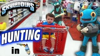 getlinkyoutube.com-Skylanders Hunting (pt.2 of Family Road Trip) Flo-Riding w/ Chase (Part 8)