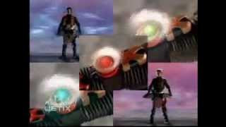 getlinkyoutube.com-Power Rangers Ninja Storm - Wind and Thunder Rangers Morph