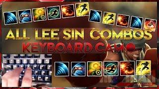 getlinkyoutube.com-Lee Sin Combos with Keyboard Cam | League of Legends