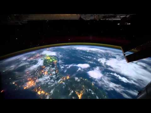 Earth HD Fly Over from Space ISS Time Lapse Photography NASA 720p