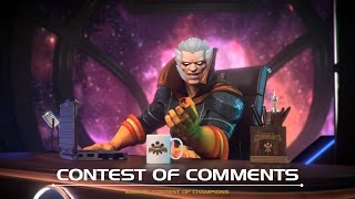 getlinkyoutube.com-Contest of Comments | Marvel Contest of Champions