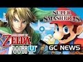 Zelda Wii U Game Reveal News at E3 / Gameplay? Schedule, Miiverse, Mario Maker, Smash Bros.