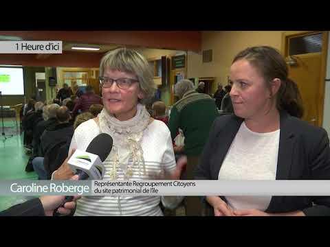 Rencontre d'information sur le patrimoine de l'Île d'Orléans