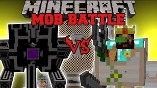 getlinkyoutube.com-ROBO GUNNER VS DWARF ENGINEER - Minecraft Mob Battles - OreSpawn and Better Dungeons Mods