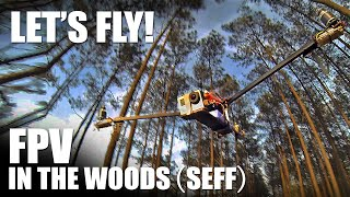 FPV Tricopter in the Woods (SEFF) - Let's Fly! | Flite Test
