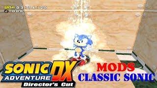 getlinkyoutube.com-Sonic Adventure DX Mods: Classic Sonic