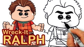getlinkyoutube.com-How to draw Wreck-It Ralph