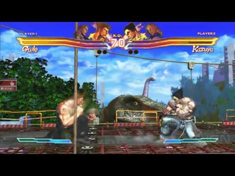 Street Fighter x Tekken - E3 2011: Off-Screen Demo Part 1