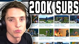 getlinkyoutube.com-200k SUBSCRIBERS + Watching Old Videos!
