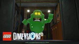 getlinkyoutube.com-LEGO Dimensions - Slimer Free Roam