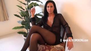 getlinkyoutube.com-Tiffany Brookes smoking cigarette