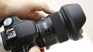 getlinkyoutube.com-Sigma 24mm f/1.4 'ART' lens review with samples (Full-frame and APS-C)
