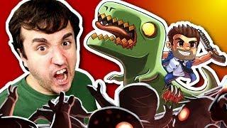 getlinkyoutube.com-MATANDO ZUMBI! - Age of Zombies (ipad)