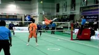 getlinkyoutube.com-Sepak Takraw Princess Cup 2012 (13th, May)