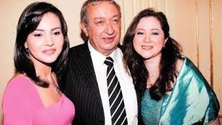 صور لم تراها من قبل للنجم نور الشريف مع إبنتيه مى وسارة