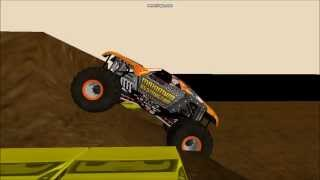 getlinkyoutube.com-Rigs of Rods Monster Jam Double Backflip Attempts