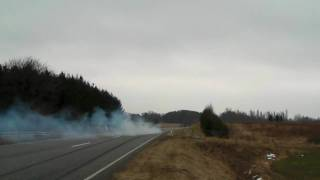 E 55 AMG with Kleemann 55-K2 tuning, power burnout 2