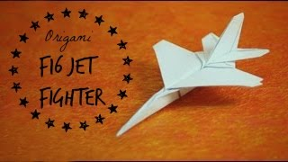 getlinkyoutube.com-How to make an F16 Jet Fighter Paper Plane (Tadashi Mori)