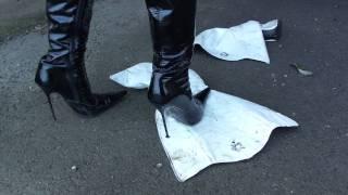 getlinkyoutube.com-Stiefelzerstörung mit Santa Cruz / Boots destruction with Santa Cruz