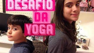 Desafio da Yoga com irmão