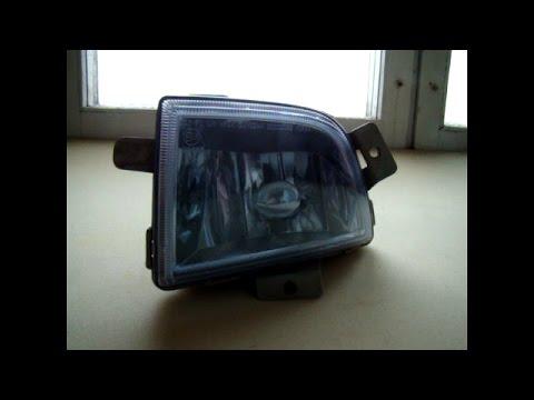 Замена лампы противотуманной фары на авео