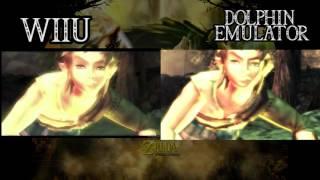 getlinkyoutube.com-Zelda Twilight Princess WiiU VS Dolphin Emulator HD